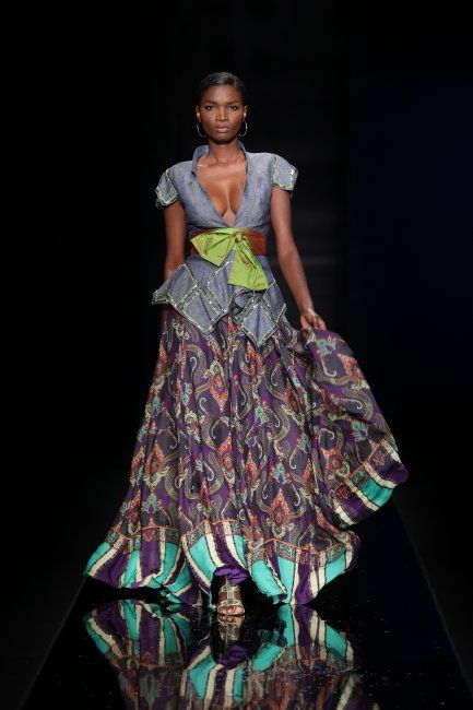 Rate this Look by Folake Coker