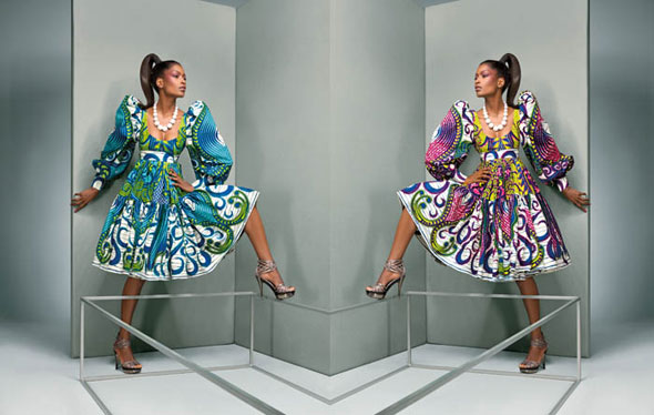 SURREALISM AWAKENED - Vlisco's 4th fabric collection for 2009