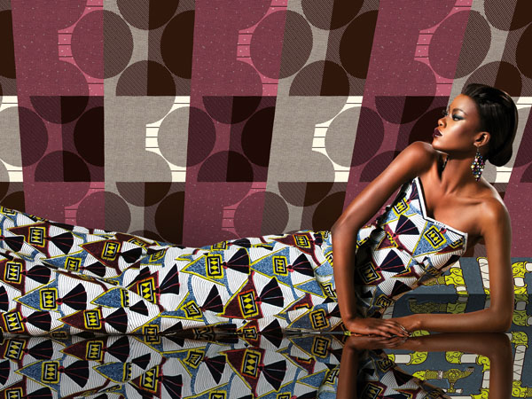 TABLEAU VIVANT - The first fabric collection of 2010 is inspired by unexpected combinations