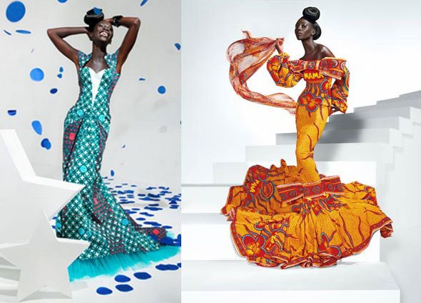 All your senses will celebrate the colourful new fabric collection SPARKLING GRACE by Vlisco