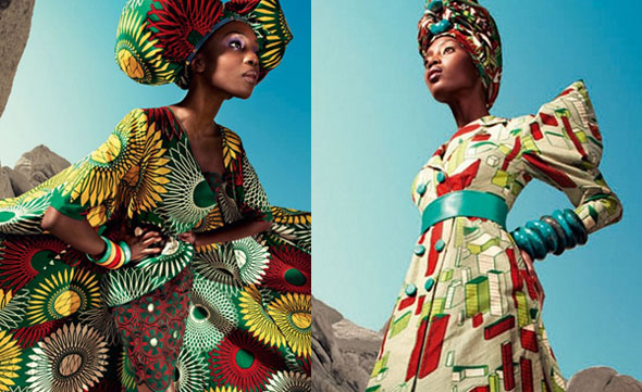 Iconic Vlisco designs are rediscovered and redefined into new narratives - 'Nouvelle Histoire'