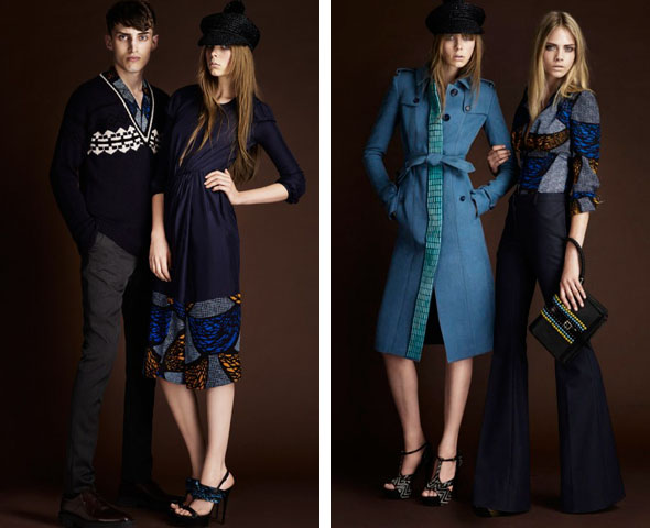 Burberry tribal collection